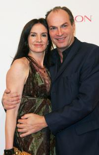 Herbert Knaup and Christiane Lehrmann at the Tribute to Bambi Charity Gala.