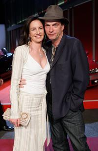 Herbert Knaup and Christiane Lehrmann at the New Faces Award.