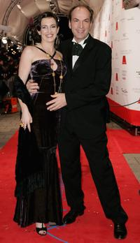 Herbert Knaup and Christiane Lehrmann at the 34th annual German Film Ball.