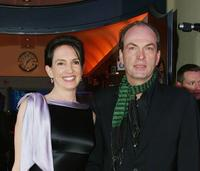 Herbert Knaup and Christiane Lehrmann at the Diva Awards.