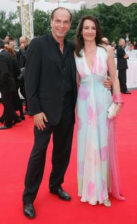 Herbert Knaup and Christiane at the Deutscher Filmpreis, the German Film Awards.