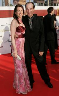 Herbert Knaup and Christiane Lehrmann at the German Film Awards (Deutscher Filmpreis).