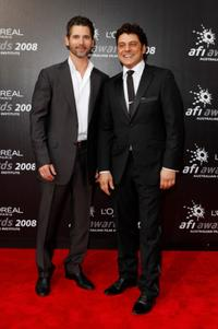 Eric Bana and Vince Colosimo at the L'Oreal Paris 2008 AFI Awards.
