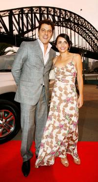 Vince Colosimo and Pia Miranda at the 2005 Lexus Inside Film Awards.
