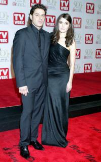 Vince Colosimo and Rose Byrne at the 50th Annual TV Week Logie Awards.