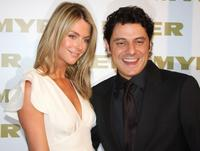Jennifer Hawkins and Vince Colosimo at the official cocktail launch party.