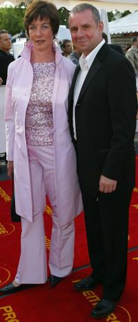 Heidrun Teusner-Krol and Joachim Krol at the German Film Awards.
