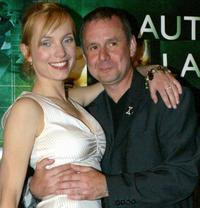 Nadja Uhl and Joachim Krol at the premiere of