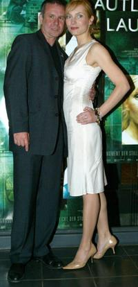 Joachim Krol and Nadja Uhl at the premiere of