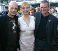 Christian Berkel, Nadja Uhl and Joachim Krol at the premiere of