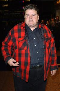Robbie Coltrane at the DVD screening of