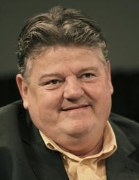 Robbie Coltrane at the 2006 Summer Television Critics Association Press Tour.