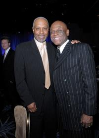 James Pickens Jr. and Michael Colyar at the 11th Annual Children Uniting Nations Oscar Celebration.