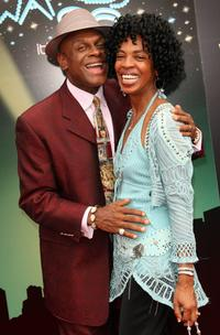 Michael Colyar and wife Brooks Jackson at the 2006 BET Awards.