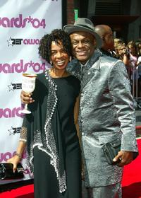 Michael Colyar and guest at the 2004 Black Entertainment Awards.