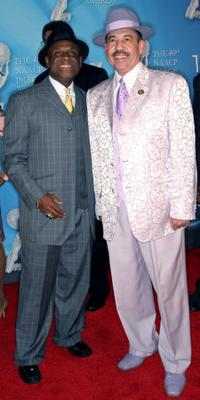 Michael Colyar and Craig S. Strong at the 40th NAACP Image Awards.