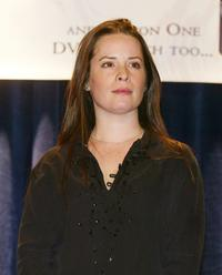 Holly Marie Combs at the WB's