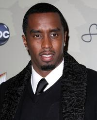 Sean Combs at the screening of