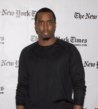 Sean Combs at the TimesTalks photo call of