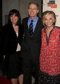 Nancy Abrahams, Jeff Bewkes and Sheila Nevins at the premiere of