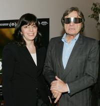 Nancy Abrahams and Hugues de Montalembert at the screening of