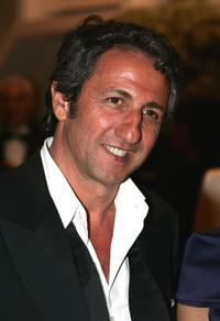 Richard Anconina at the 58th International Cannes Film Festival opening night gala.