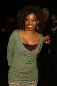 Adriane Lenox at the after party of the opening of