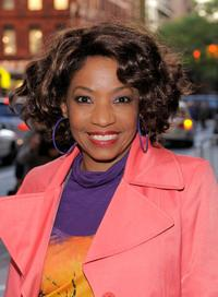 Adriane Lenox at the opening night of the Broadway play