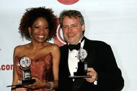 Adriane Lenox and Director Doug Hughes at the 59th Annual Tony Awards.