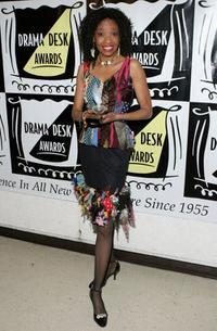 Adriane Lenox at the 50th Annual Drama Desk Awards.