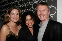 Carolyn McCormack, Mimi Lieber and Byron Jennings at the after party of the opening night of