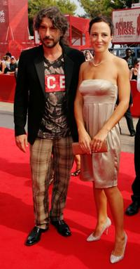 Luca Lionello and Valentina Carnelutti at the premiere of