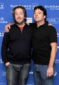 Steve Little and Robert Longstreet at the premiere of