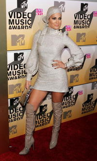 Jennifer Lopez at the MTV Video Music Awards.