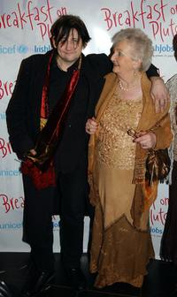 Shane MacGowan and Kitty Neeson at the premiere of
