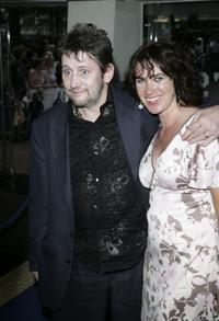 Shane MacGowan and Guest at the European premiere of