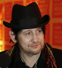 Shane MacGowan at the Meteor Ireland Music Awards 2006.