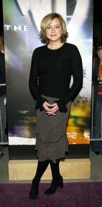 Allison Mack at the WB Network's 2003 Winter Party.
