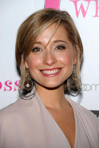 Allison Mack at the