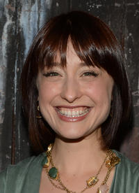 Allison Mack at the FX Summer Comedies party.