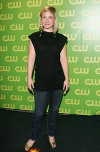 Allison Mack at the CW Television Network Upfront.