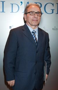 Ernesto Mahieux at the 2009 Nastri D'Argento Nominations dinner party.