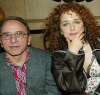 Ernesto Mahieux and Valeria Golino at the 2003 New Directors/New Films directors party.