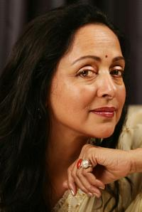 Hema Malini at the Bangkok International Film Festival 2007.