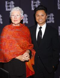 Betty DeGeneres and Alec Mapa at the L.A. Gay and Lesbian Centers 33rd Anniversary and Auction.