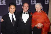Alec Mapa, Dean Hansell and Betty DeGeneres at the L.A. Gay and Lesbian Center's 33rd Anniversary and Auction.