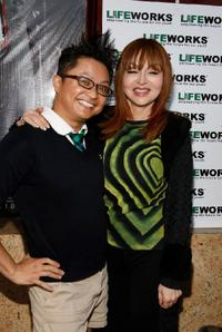 Alec Mapa and Judy Tenuta at the Laugh Out Loud Comedy Benefit for Lifeworks Mentoring.
