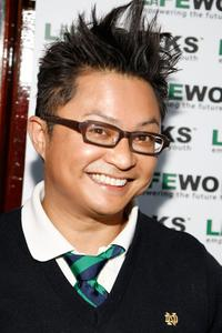 Alec Mapa at the Laugh Out Loud Comedy Benefit for Lifeworks Mentoring.