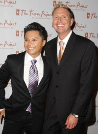Alec Mapa and Charles Robbins at the 8th Annual The Trevor Project Benefit Gala.