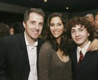 Scott Marshall, Jami Gertz and Daryl Sabara at the after party of the premiere of